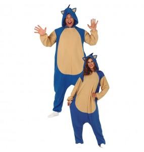 Disfraz de Sonic para adulto