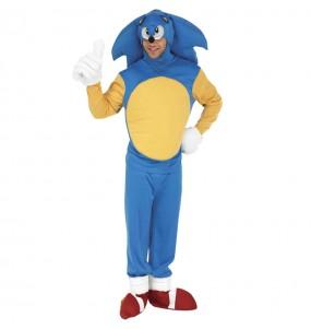 Disfraz de Sonic the Hedgehog para adulto