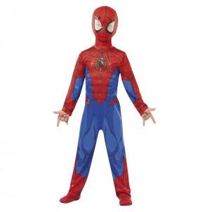 Disfraz de Spiderman marvel para niño