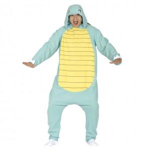 Disfraz de Squirtle Pokémon Kigurumi adulto