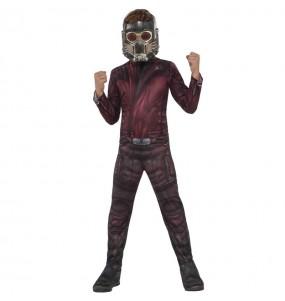 Disfraz de Star Lord Guardianes de la Galaxia para niño