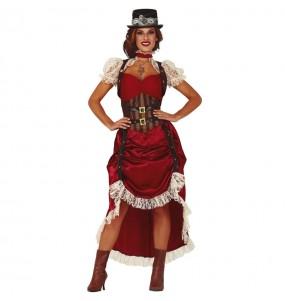 Disfraz de Steampunk Vintage para mujer