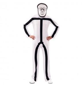 Disfraz de Stickman para hombre