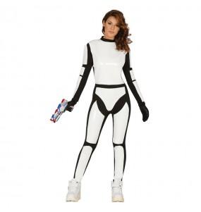 Disfraz de Stormtrooper Imperial Mujer