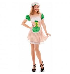 Disfraz de Strawberry para mujer