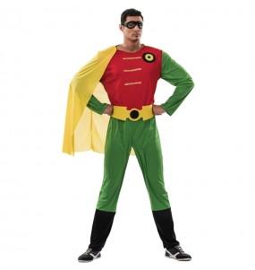 Disfraz de Súper Robin para hombre
