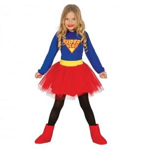 Disfraz de Supergirl Infantil
