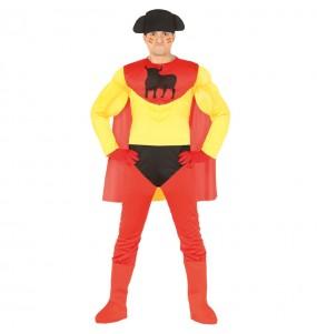 Disfraz de Superhéroe Español adulto