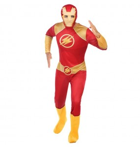 Disfraz de Superhéroe Flash para adulto