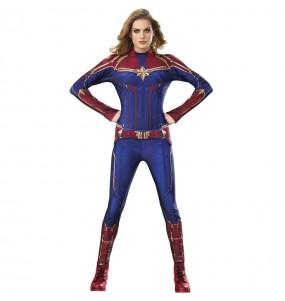 Disfraz de Superheroína Capitana Marvel para mujer