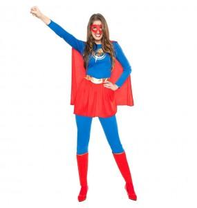 Disfraz de Superheroína Relámpago para mujer