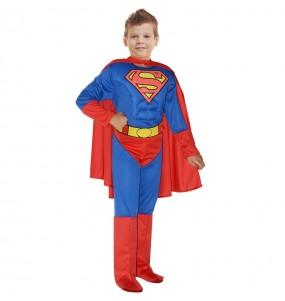 Disfraz de Superman musculoso Classic para niño