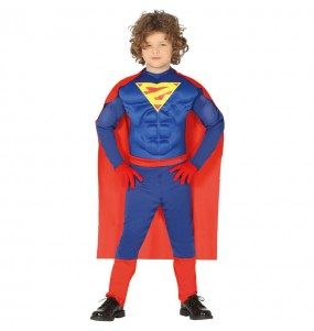 Disfraz de Superman Musculoso para niño