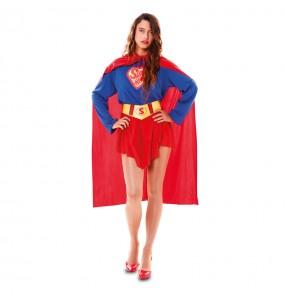 Disfraz de Superwoman mujer