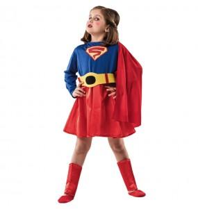 Disfraz de Superwoman para niña