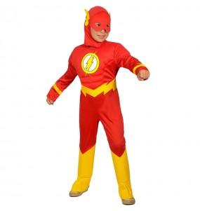 Disfraz de The Flash musculoso para niño