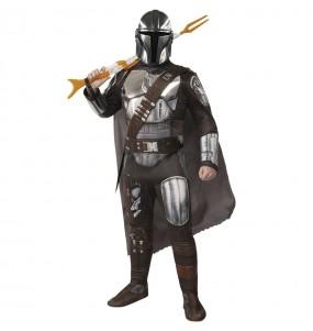 Disfraz de The Mandalorian Deluxe para hombre