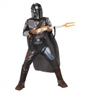 Disfraz de The Mandalorian Premium para niño