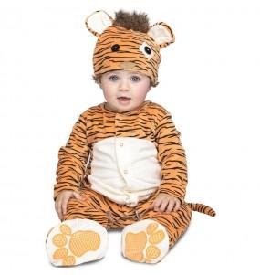 Disfraz de Tigre con chupete para bebé