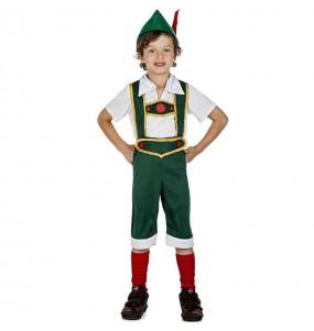 Disfraz de Tirolés Alemán para niño