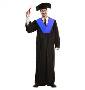 Disfraz de Toga Graduación para hombre