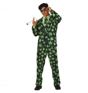 Disfraz de Traje Marihuana para hombre