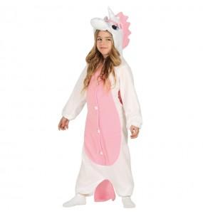 Disfraz de Unicornio Rosa para niña