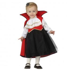 Disfraz de Vampiresa gótica para bebé