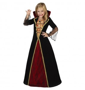 Disfraz de Vampiresa medianoche para niña
