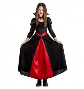 Disfraz de Vampiresa nocturna para niña