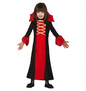 Disfraz de Vampiresa Royal para niña