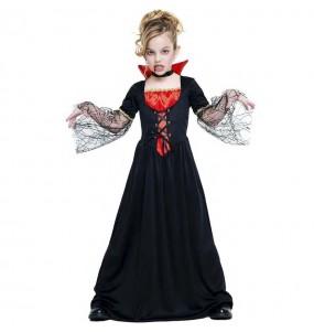 Disfraz de Vampiresa siniestra para niña
