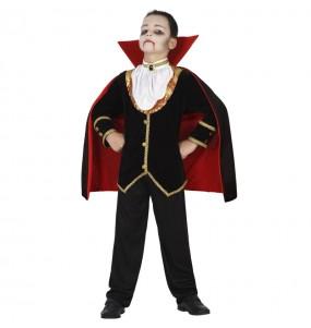 Disfraz de Vampiro medianoche para niño