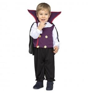 Disfraz de Vampiro morado para bebé