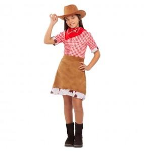 Disfraz de Vaquera Americana para niña
