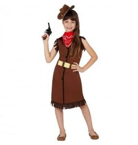 Disfraz de Vaquera Sheriff para niña barato