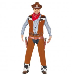 Disfraz de Vaquero Rodeo para hombre