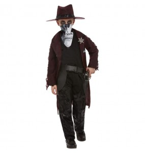 Disfraz de Cowboy zombie para niño