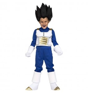 Disfraz de Vegeta para niño Dragon Ball