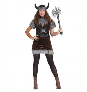 Disfraz Vikinga del Norte para mujer