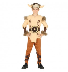 Disfraz de Vikingo Escandinavo para niño