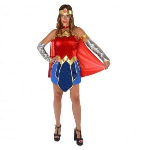 Disfraz de Wonder Woman Classic para mujer