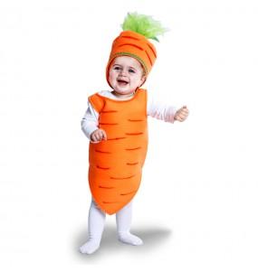 Disfraz de Zanahoria para bebé