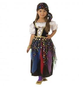Disfraz de Zíngara Pitonisa para niña
