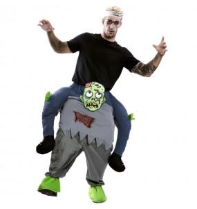 Disfraz de Zombie a hombros para adulto