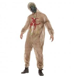 Disfraz de Zombie biohazard para hombre