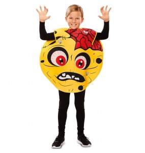 Disfraz de Zombie Emoticono para niño