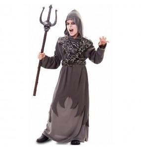 Disfraz de Zombie encadenado para niño