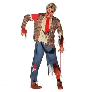 Disfraz de Zombie Maldito para hombre