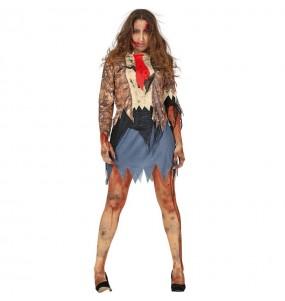 Disfraz de Zombie Maldito para mujer